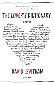 A Lover's Dictionary by David Levithan