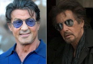 Stallone and Pacino