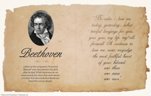beethoven love letter